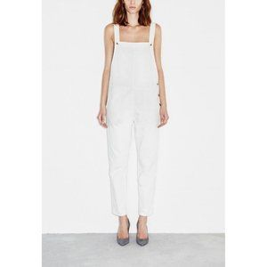 NWT M.I.H Jeans Cylla Dungarees White Overalls L